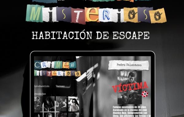 HABITACIÓN DE ESCAPE DIGITAL Crimen misterioso